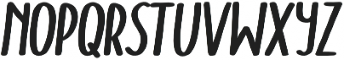 Doodler Bold Italic otf (700) Font LOWERCASE