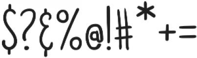 Doodler otf (400) Font OTHER CHARS
