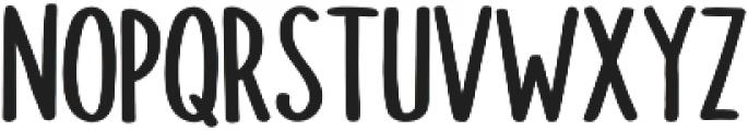 Doodler otf (700) Font UPPERCASE