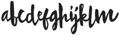Doodlesack otf (400) Font LOWERCASE