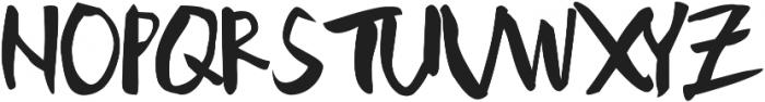 Doodlesack ttf (400) Font UPPERCASE
