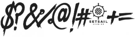 Dope Script ttf (400) Font OTHER CHARS