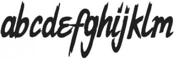 Dope Script ttf (400) Font LOWERCASE