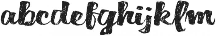Dorae Script Regular otf (400) Font LOWERCASE