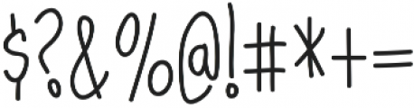 Dorathy otf (400) Font OTHER CHARS