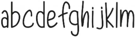 Dorathy otf (400) Font LOWERCASE