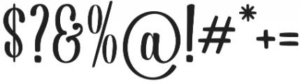 Dorayaki Regular otf (400) Font OTHER CHARS
