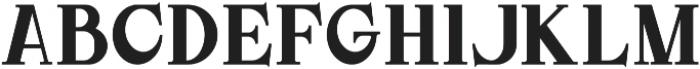DoriesBold otf (700) Font UPPERCASE