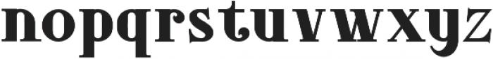 DoriesBold otf (700) Font LOWERCASE