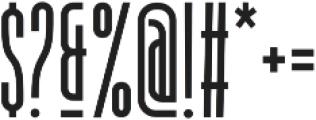 Dorion Medium otf (500) Font OTHER CHARS