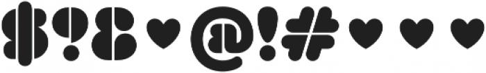 Dorum FY otf (400) Font OTHER CHARS