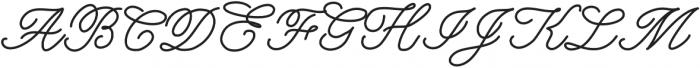 DorwittScript ttf (400) Font UPPERCASE