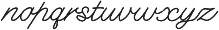DorwittScript ttf (400) Font LOWERCASE
