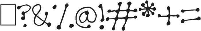 Dot Dot Dot ttf (400) Font OTHER CHARS