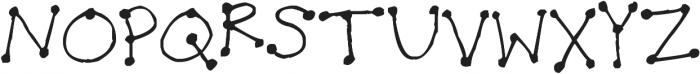 Dot Dot Dot ttf (400) Font UPPERCASE