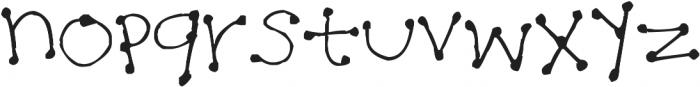 Dot Dot Dot ttf (400) Font LOWERCASE