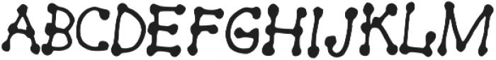 Dot-On ttf (400) Font UPPERCASE