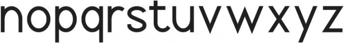 Dotcom Bold otf (700) Font LOWERCASE