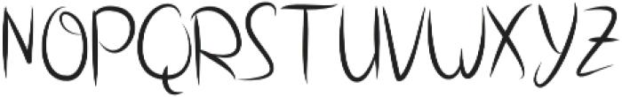 Dotting otf (400) Font UPPERCASE