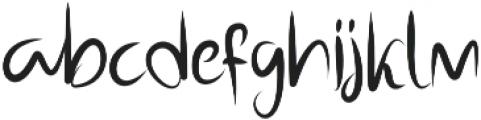 Dotting otf (400) Font LOWERCASE