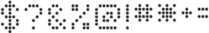 Dottle otf (400) Font OTHER CHARS
