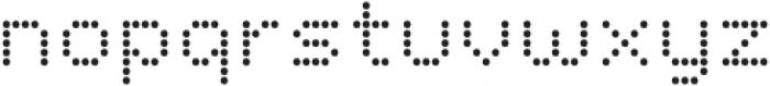 Dottle otf (400) Font LOWERCASE