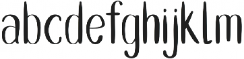 Double Smoothie Thin otf (100) Font LOWERCASE