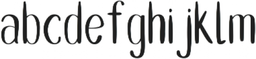 Double Smoothie Thin ttf (100) Font LOWERCASE