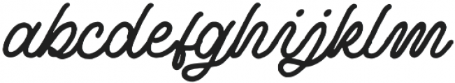 Douglas-Ancaster Script otf (400) Font LOWERCASE