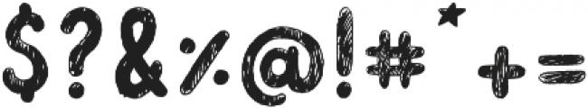 Douillet ttf (400) Font OTHER CHARS