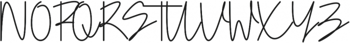 Doupple Signature otf (400) Font UPPERCASE