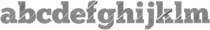 dodol Regular ttf (400) Font LOWERCASE