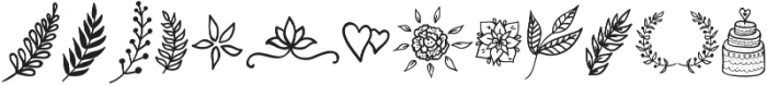 doodle new otf (400) Font UPPERCASE