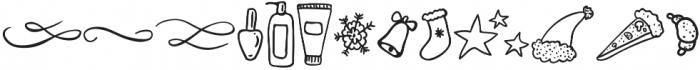 doodle new otf (400) Font LOWERCASE