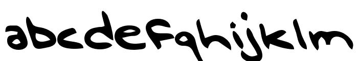 Douglas Regular Font LOWERCASE