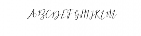 Dogma Script Font UPPERCASE