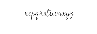 Dogma Script Font LOWERCASE