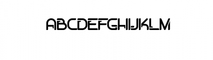 Dogmatist Font UPPERCASE