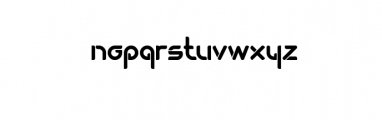 Dogmatist Font LOWERCASE