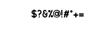 Dot.otf Font OTHER CHARS