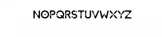Dot.otf Font UPPERCASE