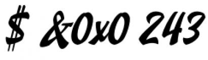 Doedel Alternate 1 Font OTHER CHARS