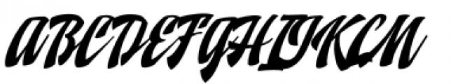 Doedel Alternate 1 Font UPPERCASE