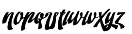 Doedel Alternate 2 Font LOWERCASE
