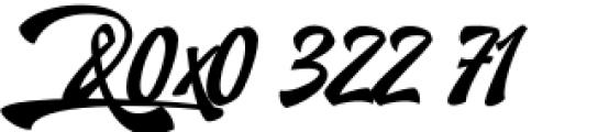 Doedel Alternate 4 Font OTHER CHARS