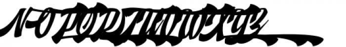 Doedel Alternate 4 Font UPPERCASE
