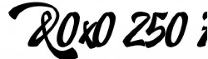 Doedel Alternate 5 Font OTHER CHARS