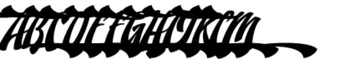 Doedel Alternate 5 Font UPPERCASE