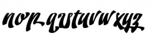 Doedel Alternate 5 Font LOWERCASE