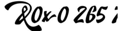 Doedel Alternate 7 Font OTHER CHARS